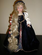 SUSAN WAKEEN RAPUNZEL DOLL LIMITED EDITION 750 ACTUALLY SIGNED BY WAKEEN