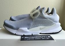 Nike Sock Dart SP Wolf Grey White White Mens Sz 10 Running 306 NikeLab Fragment