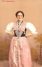 BR56871 Appenzellerin folklore costume    Switzerland