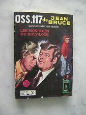 Jean BRUCE - OSS 117 n° 52 - Les monstres du Holy-Loch