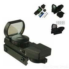 Red Green Dot Patterns Reflex Sight 4 Reticles Hunting Supply Paintball Scope