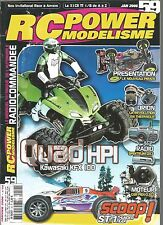 RC POWER MODELISME N°59 QUADHPI KAWA KFX 100 / PIRATE / ORION / SPEKTRUM DX3