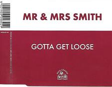 MR & MRS SMITH - Gotta get loose CD SINGLE 3TR Trance House 1996