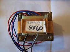 New Old Stock FAME SX60 Guitar Amplifier Mains Transformer for 240VAC
