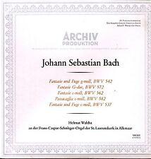 Bach Fantasie und Fuge Helmut Walcha in Alkmaar/ LP ist neu