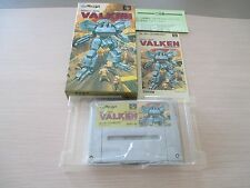 ASSAULT SUIT VALKEN SHOOT SFC SUPER FAMICOM JAPAN IMPORT COMPLETE IN BOX!