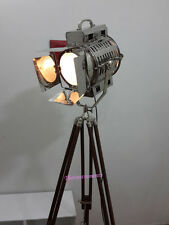 Industrial Vintage Retro Theater Home Decor Spotlight with Tripod Floor lamp