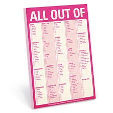 Knock Knock All Out Of (Pink) - Note Pad