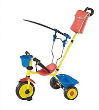 L.A.Sports Tricycle Children with Sun protection And Control handle,red/yellow/