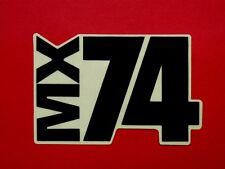 NOS Indian MX-74 Decal dirt bike motorcycle MX74