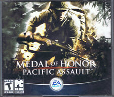 Medal of Honor: Pacific Assault (PC, 2004, Electronic Arts) W/ Manual