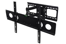 "TV WALL BRACKET MOUNT TILT AND SWIVEL VESA  30"" TO 60"" LED PLASMA LCD OLED 45kg"