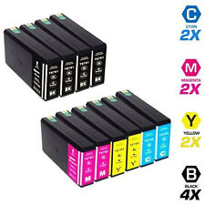 10 Pack Compatible Ink T676XL for EPSON WORKFORCE PRO WP-4020 WP-4530 WP-4540