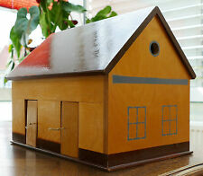 Holz Bauernhofgebäude - Stallung mit Futterkrippe 2teilig zum ausziehen !!!