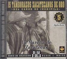 15 Tamborazos Zacatecanos De Oro Vol 5 La Marcha De Zacatecas CD New NuevoSealed