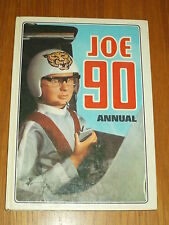 JOE 90 GERRY ANDERSON 1969 BRITISH ANNUAL