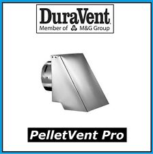 "DURAVENT PELLETVENT PRO Pipe 3"" Diameter Square Horizontal Cap #3PVP-HSC NEW!"