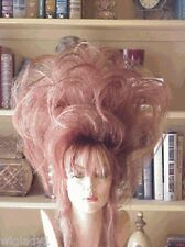 SIN CITY WIGS BIG HAIR! GLAMOROUS RED UP DO SUPER HIGH CURLS LOOK LIKE A STAR!