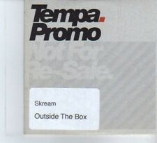 (DF371) Skream, Outside The Box - DJ CD