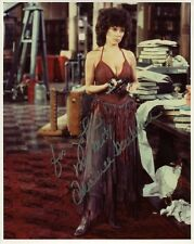 ADRIENNE BARBEAU AUTHENTIC SIGNED 8x10 COLOR PHOTO      VERY SEXY POSE   TO JOHN