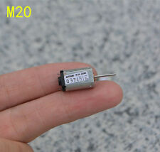 2pcs DC3-9V 10000-30000rpm High Speed M20 Solar Motor For Aircraft Helicopter HM