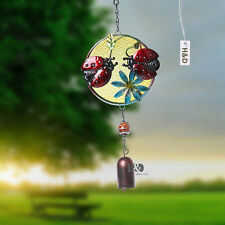 Amazing Gifts Wind Chimes Bells Ladybird Yard Garden Outdoor Living Home Decor