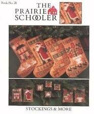 The Prairie Schooler STOCKINGS & MORE Pattern Chart Book No. 28 HTF and EUC