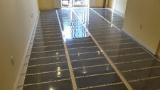 "Infrared floor heating film 500 sq.ft, 220V, width 39 3/8"", 21w/sq.ft"