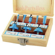 "Router Bit Set  8Pc 1/4""  Tungsten Carbide"
