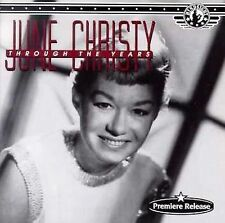 JUNE CHRISTY ~ Through The Years [16 Tracks] ~ CD Album ~ NEW!
