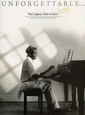 Unforgettable The Lighter Side Of Jazz Learn to Play Piano Guitar Music Book