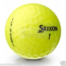 50 MINT Srixon Q-Star YELLOW AAAAA Used Golf Balls