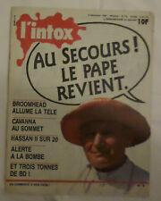 l'intox n° 2  4/12/1985