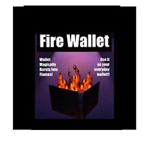 The Official Flame Wallet magic trick fire