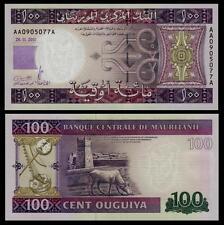 Mauritania 100 Ouguiya 2011 UNC**New Date