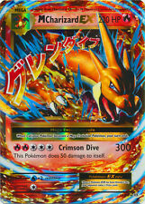 x1 Mega Charizard EX - 13/108 - Holo Rare ex Pokemon XY Evolutions M/NM