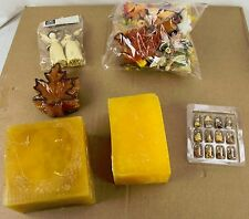 Lot of Fall Autumn Thanksgiving Holiday Decorations Decor Candle Sanoma Ornament