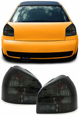 CRYSTAL SMOKED REAR TAIL LIGHTS LAMPS FOR AUDI A3 8L 08/1996 - 04/2003