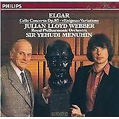 Julian Lloyd Webber : Elgar: Cello Concerto, Enigma Variations CD (1986) amazing