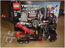 VOM FACHHÄNDLER - Lego Technic 8285 - Großer Schwarzer Abschlepptruck