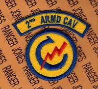 US Army 2nd ARMORED CAVALRY REGIMENT ACR patch tab set