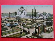 BRUXELLES  :  EXPO de 1910  -  La Section Allemande.