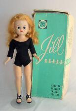 """Vintage Vogue 10 1/2"""" Jill Doll Blonde Ponytail Hard Plastic Bent Knee Walker"""
