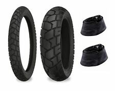 Shinko 90/90-21 & 130/90-17 705 Tires & Tubes Set BMW F650GS Dakar/R100GS Dakar
