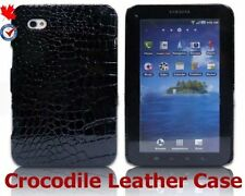 New Samsung Galaxy Tab P1000 Crocodile Leather Case