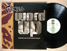 "Cameo Word Up A//1 B//2 ♫LISTEN♫ 4 Track UK 12"" Club JABX 38 1986 EX/NM"