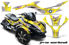 AMR Racing Can Am BRP RS Spyder Graphic Kit Wrap Roadster Sticker Decal WARHAWK