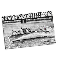 Two 1920's Wooden Speed Boat Load of Flappers  Poster 11x17 Posters