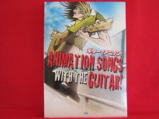 Animation Songs With The Guitar! TAB Sheet Music Collection Book / Anime