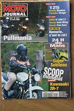 MOTO JOURNAL N°1371 ST 1100 HONDA GL 1500 SE GOLD WING 24 HEURES DU MANS 1999